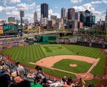 beau terrain de baseball